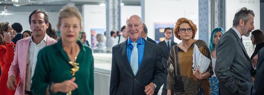 Norman Foster, exposición, Madrid, hna