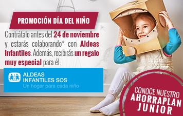 AhorraPlan Junior, Día del niño
