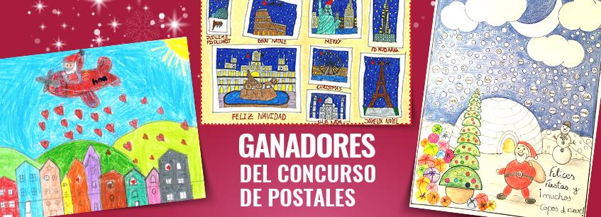 hna, navidad, postales
