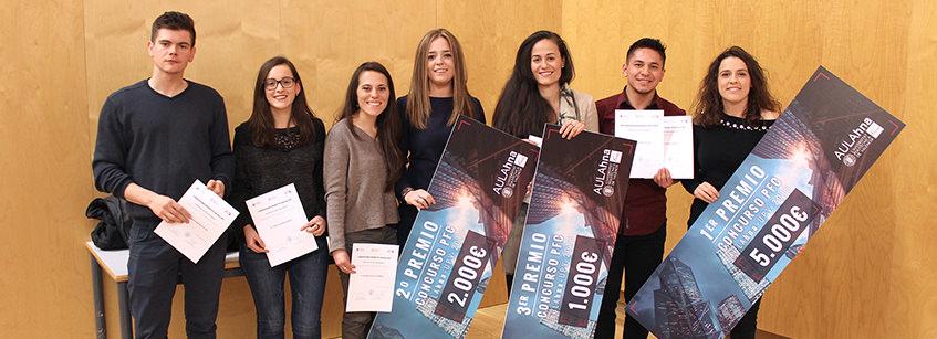 PFC, UPV, concurso, ganadoras