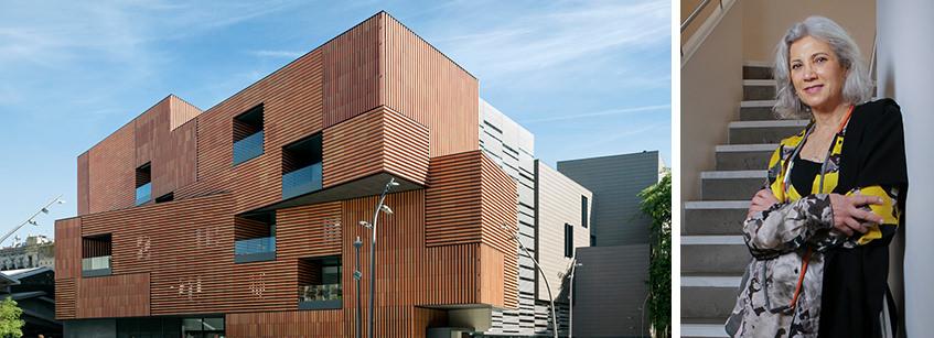Carme Pinós, Arquitectura, hna, entrevista