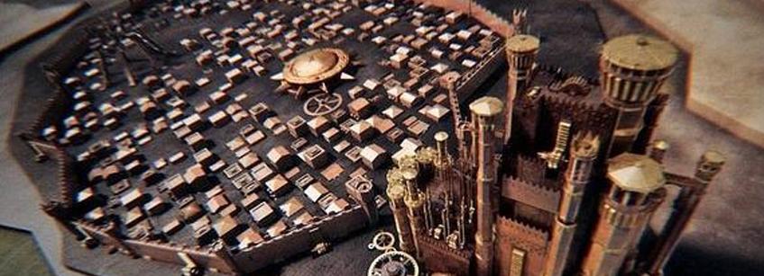 Juego de Tronos, Arquitectura, edificios, decorados