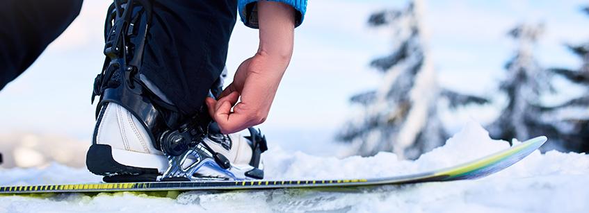 esqui, deporte, pies, cuidados