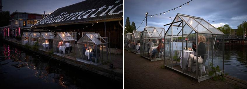 Mediamatic, Amsterdam, restaurante, Arquitectura