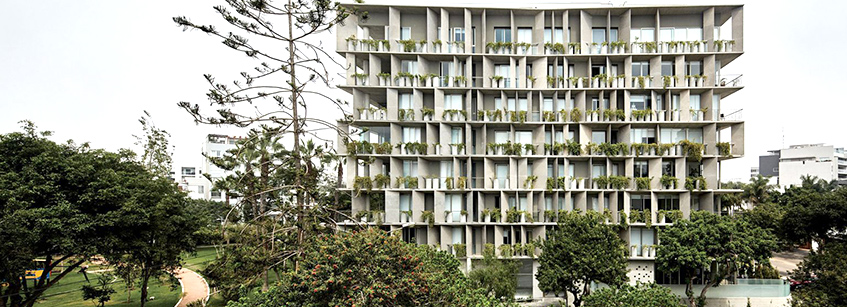 Barclay Crousse, Un Park, Arquitectura Perú, apartamento Lima
