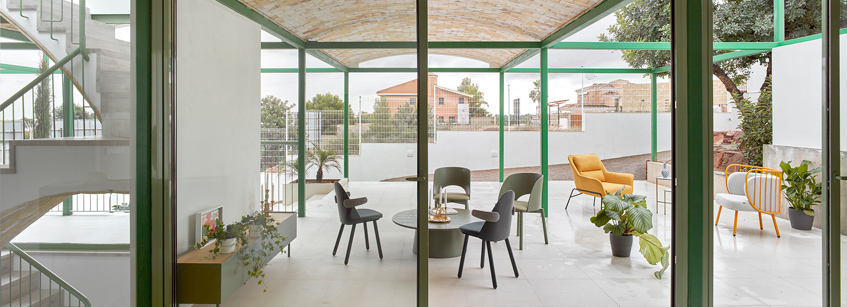 Brick Vault House, Space Popular, Arquitectura, Valencia