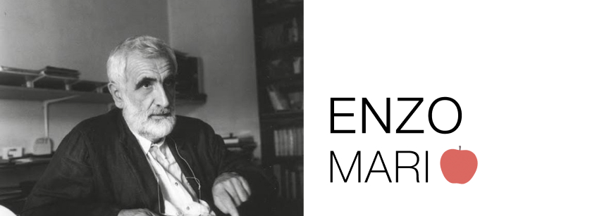 Enzo Mari, Arquitectura, arte, Milán