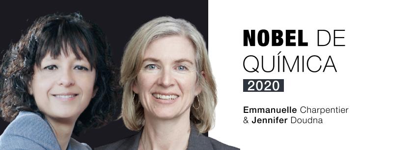 Charpentier, Doudna, Nobel Química 2020