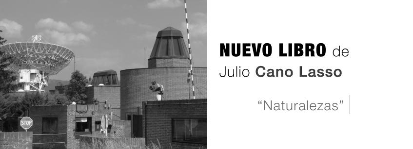 Nuevo libro de Julio Cano Lasso