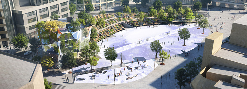 Miralles Tagliabue, Century Square, Arquitectura, China