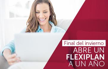 Flexiplan, promoción, rentabilidad extra, hna