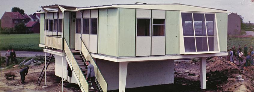 Jean Prouvé, CaixaForum Madrid, Arquitectura