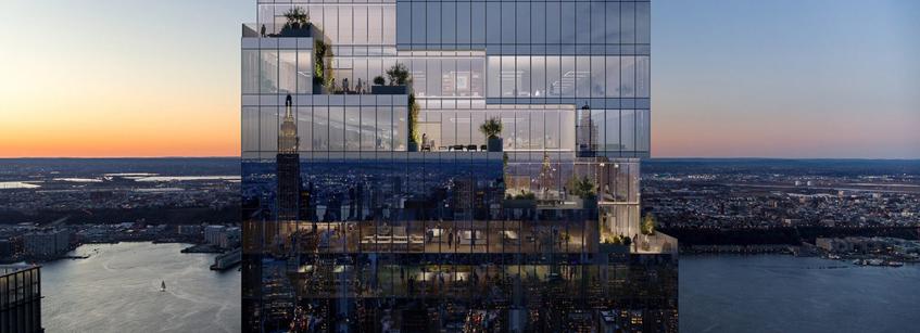 THE SPIRAL, Pfizer, Arquitectura, BIG, rascacielos
