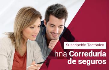 hna Correduría de Seguros, Tectónica, suscripción gratis