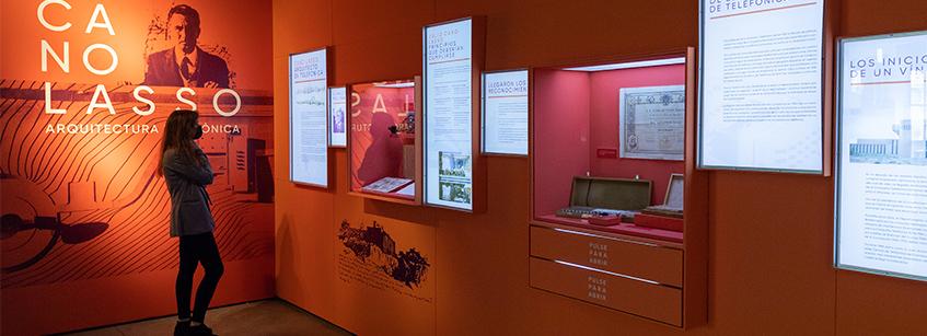 Cano Lasso, Arquitectura, exposición, Madrid