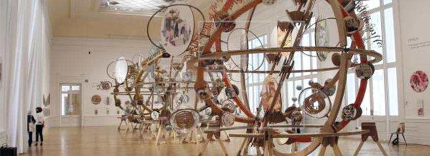 Izaskun Chinchilla, Arquitectura, Cosmowomen, Roma, exposición