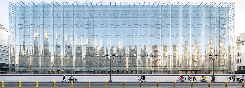 La Samaritaine, SANAA, Arquitectura, París, Francia