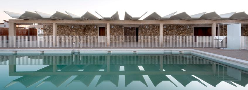 Castromonte, Arquitectura, piscinas municipales, Valladolid, proyecto